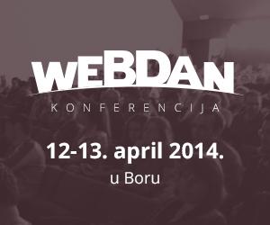WebDan konferencija!