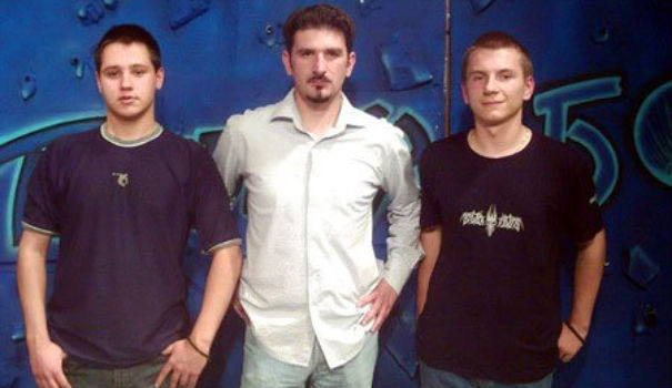 Prvo gostovanje na TV Bor, u emisiji Aleksandra Velinovskog, godina 2004.