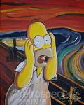 homer panic scream