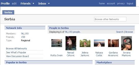 facebook serbia