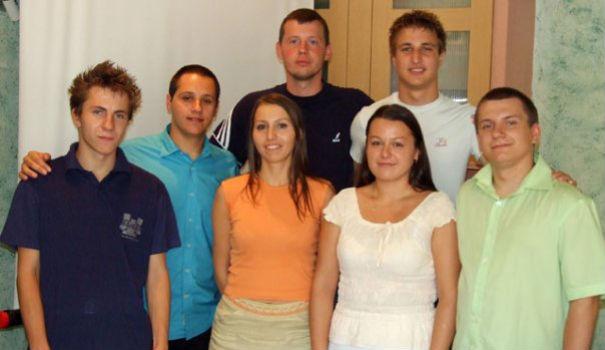Deo ekipe 2008. godine