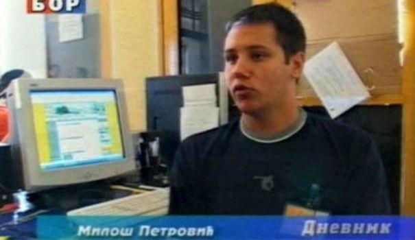 Prvi put u Dnevniku TV Bor 2005. godine